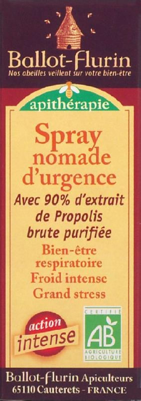 Spray nomade d'urgence propolis 15ml